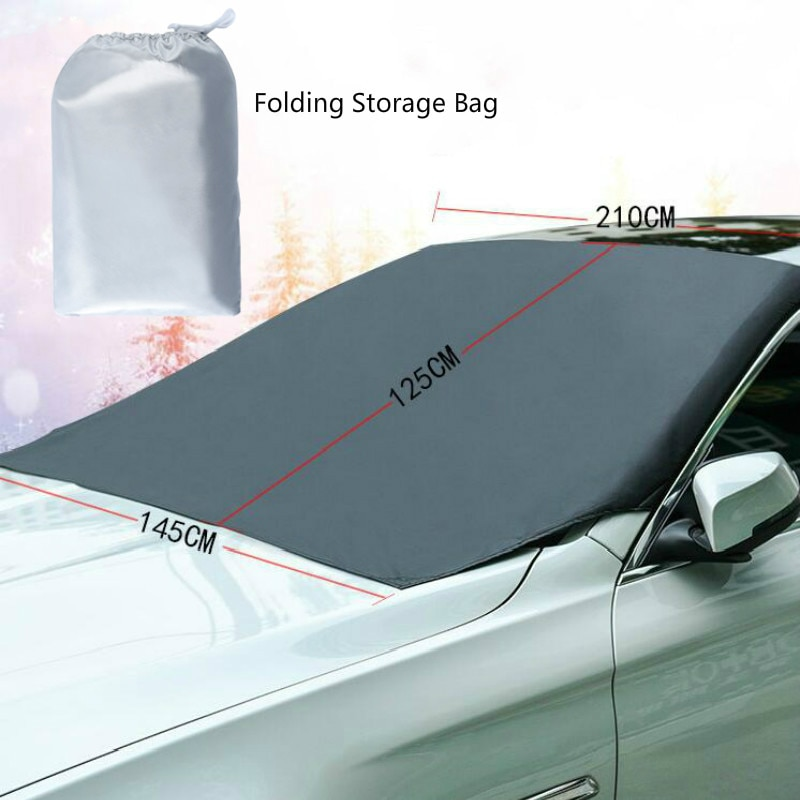 Windshield Snow Cover Sunshade Magnetic Universal 3