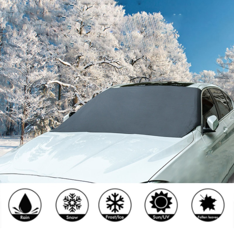 Windshield Snow Cover Sunshade Magnetic Universal 1