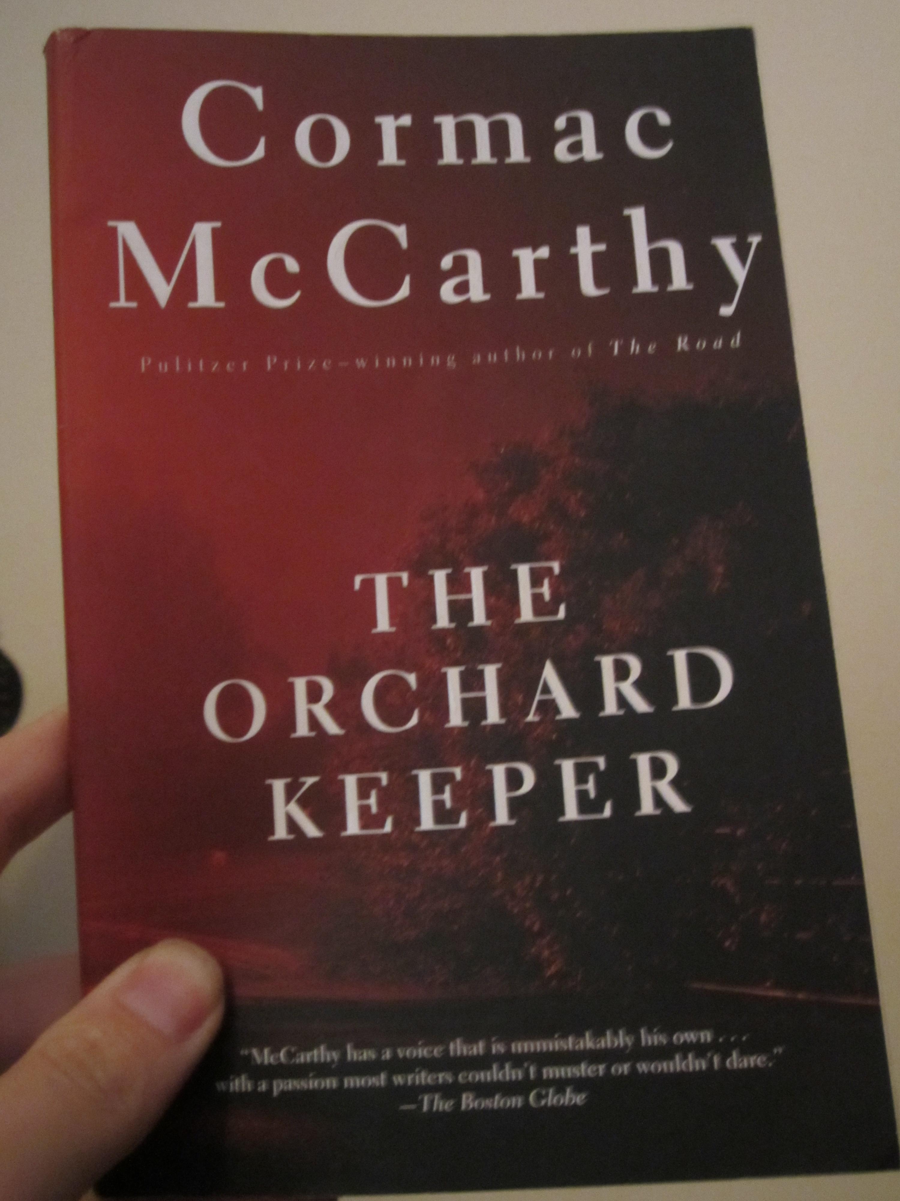 Orchard Keeper Cormac Mc Carthy First Thus Ballantine Paperback 1969