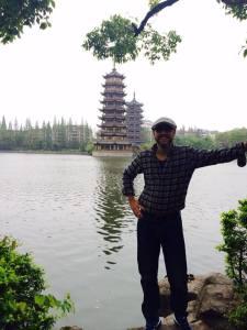CG Fewston in Guilin 1 - April 2015