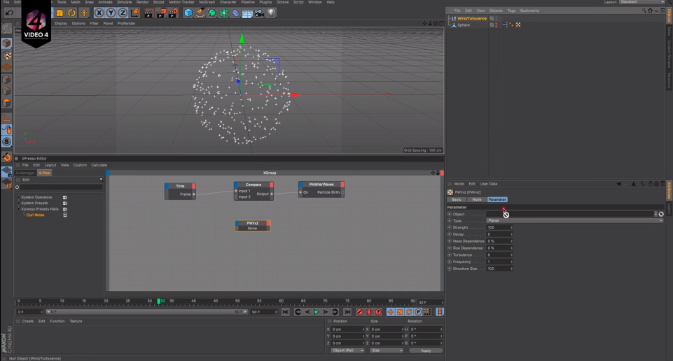 Particles Follow Surface - CINEMA 4D TUTORIAL | CGHOW