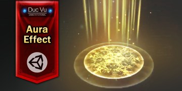 Game Effect Tutorial - Basic Aura - DucVu FX