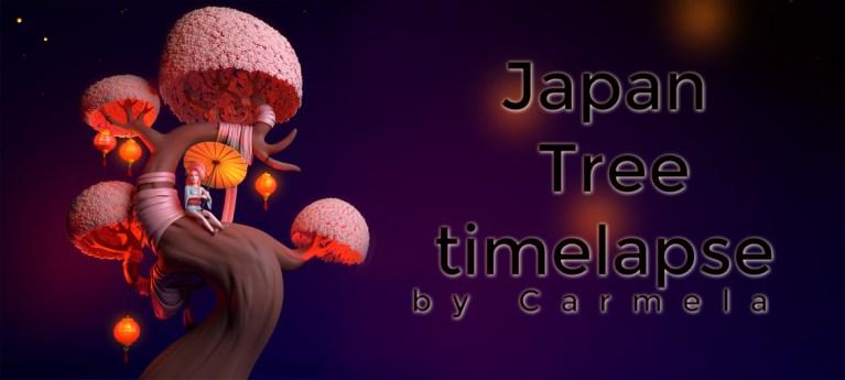 Japan Tree timelapse by Carmela paglionico