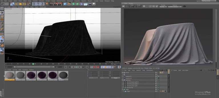 Arnold For Cinema 4d - How To Create Silk, Cotton, Velvet And Fabric Shaders