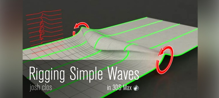 3DS Max Tutorial - Rigging Waves by Josh Clos