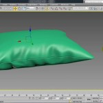 3ds max pillow modeling tutorial , cloth modify