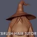 Alternative Method for Creating Hair in Zbrush