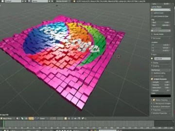 Automating Motion Graphics with Blender