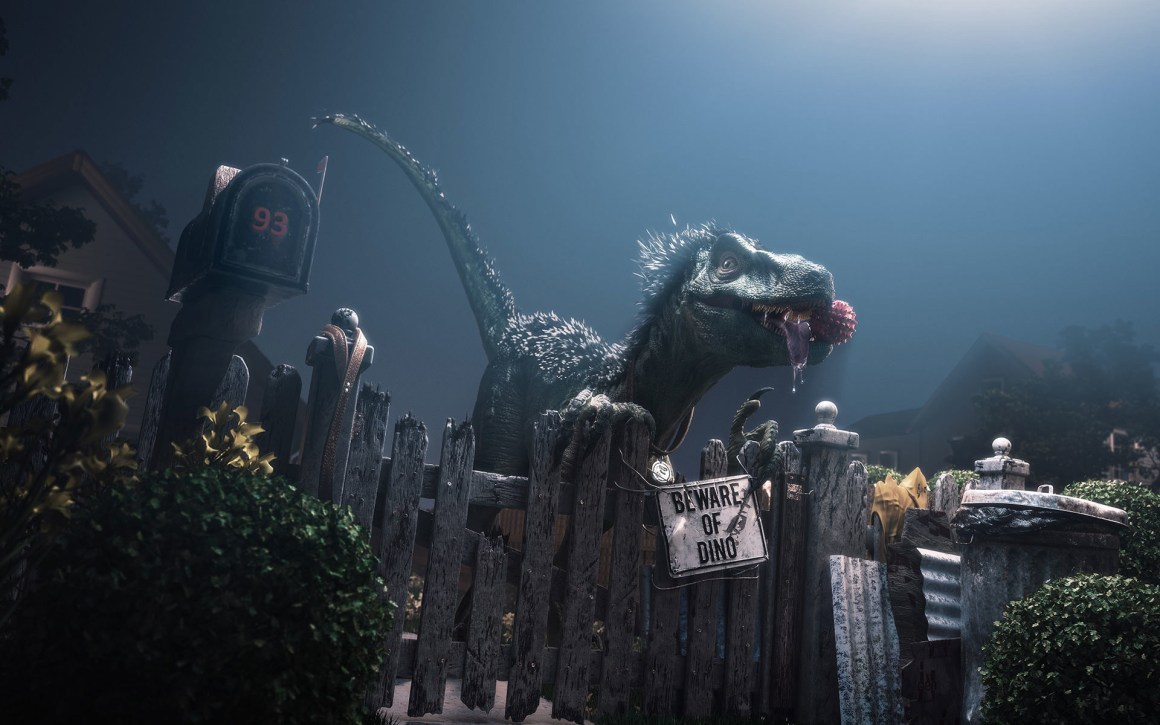 Beware of Dino! by Diego Maricato