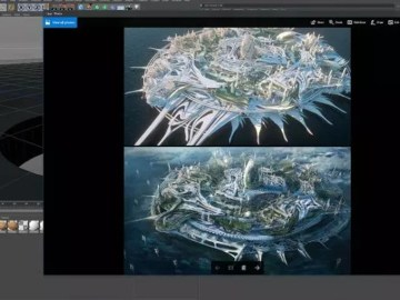 Cinema 4D and MoGraph for Concept Illustration