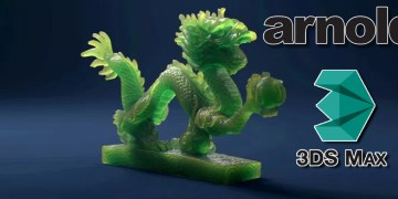 """Creating """"The Dragon Shader"""" in Arnold for 3ds Max"""