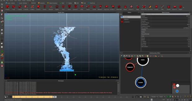 Creating a Tornado using RealFlow and FumeFX in 3ds Max