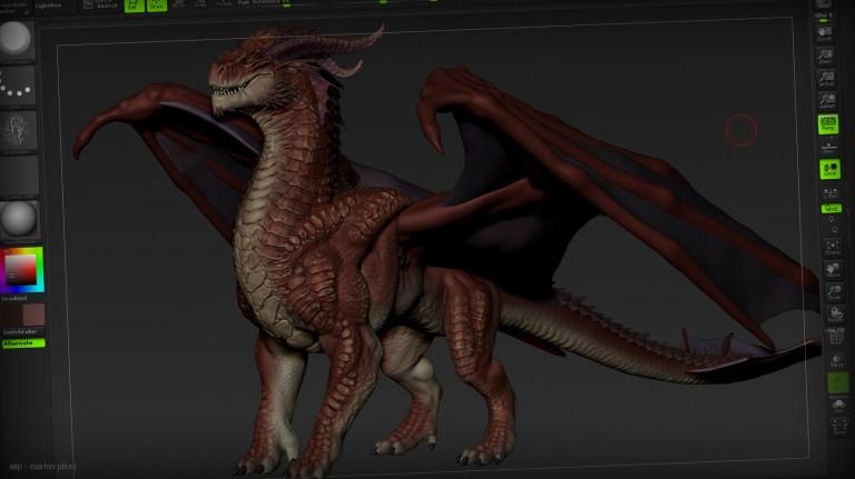 Dragon by Marlon Piloni