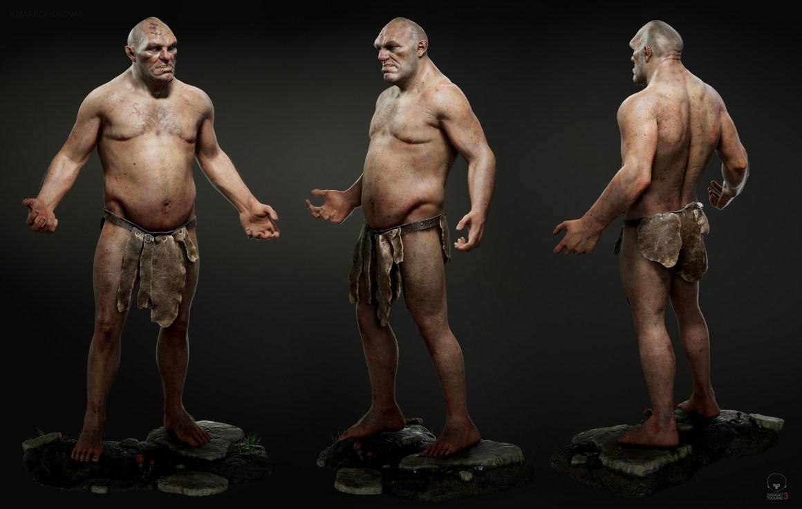 George The Ogre by Juras Rodionovas