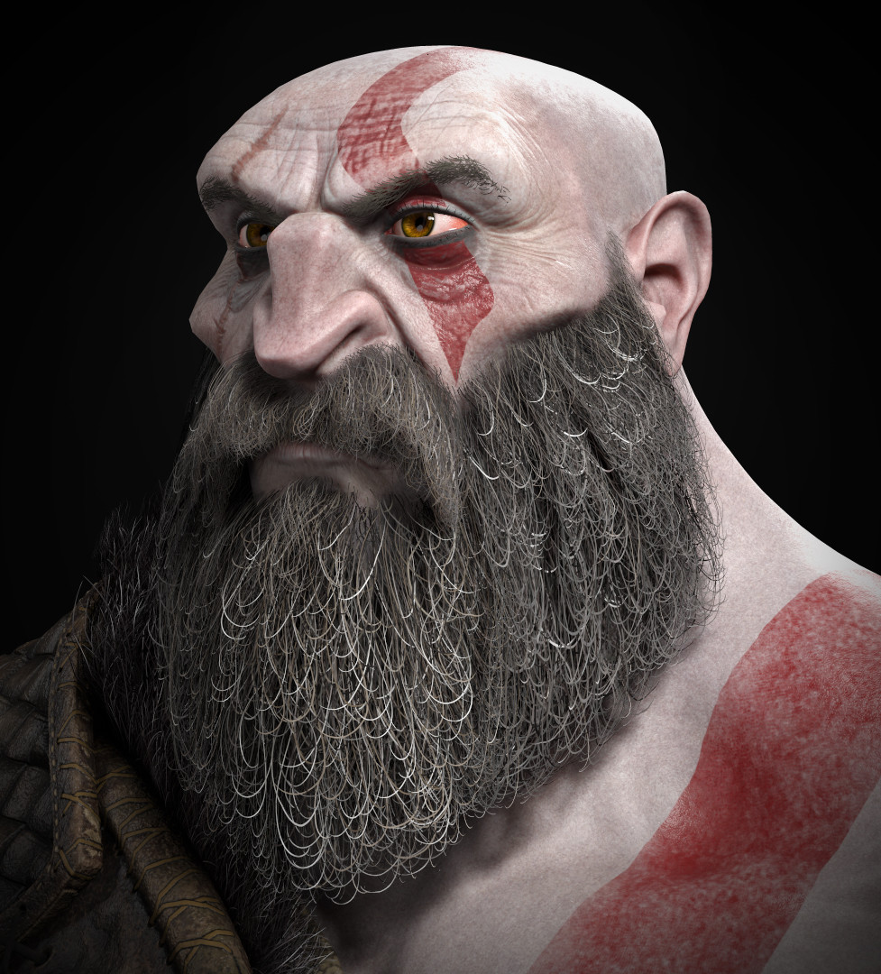 Kratos by Hugo Aubert