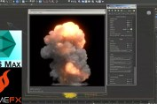 Large Scale Explosion Tutorial Using FumeFx 3