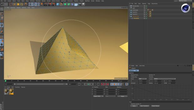 Make Primitives More Flexible with the Correction Deformer in Cinema 4d