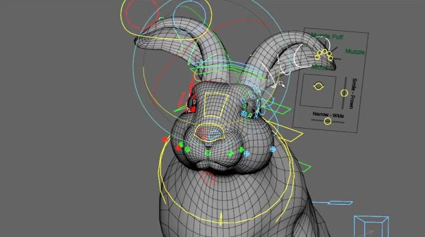 Making of Blue Bunny