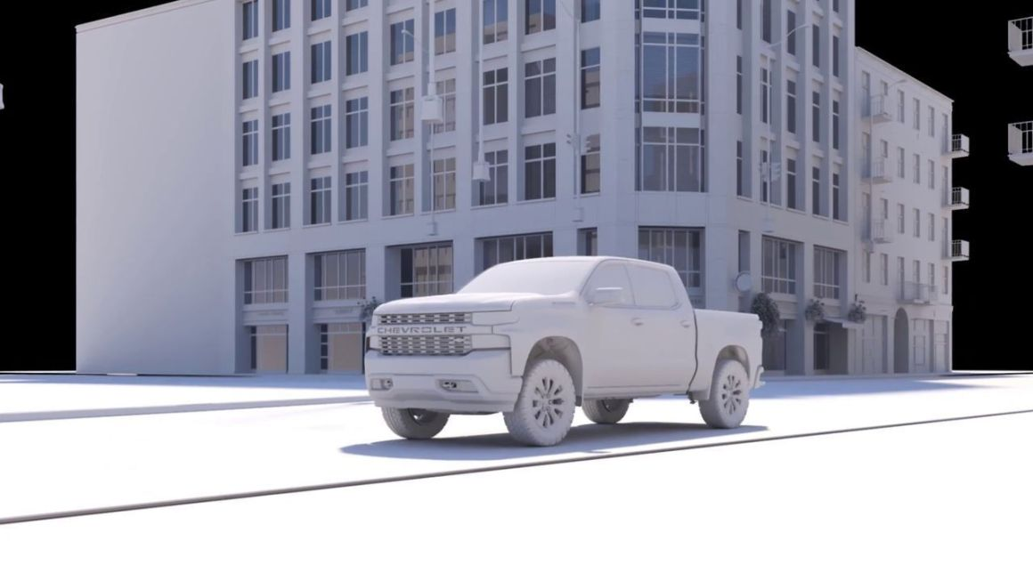 Making of Chevrolet Silverado MY18