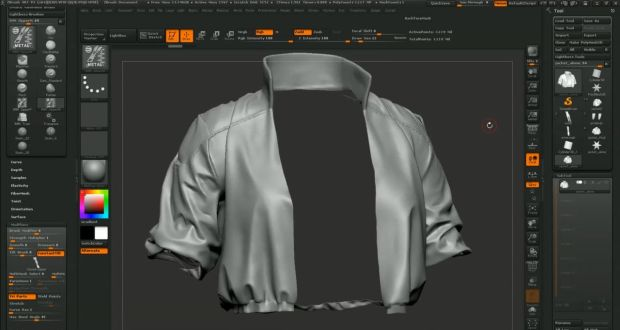 Making of Ghost in the Shell Character in Mudbox by Dan