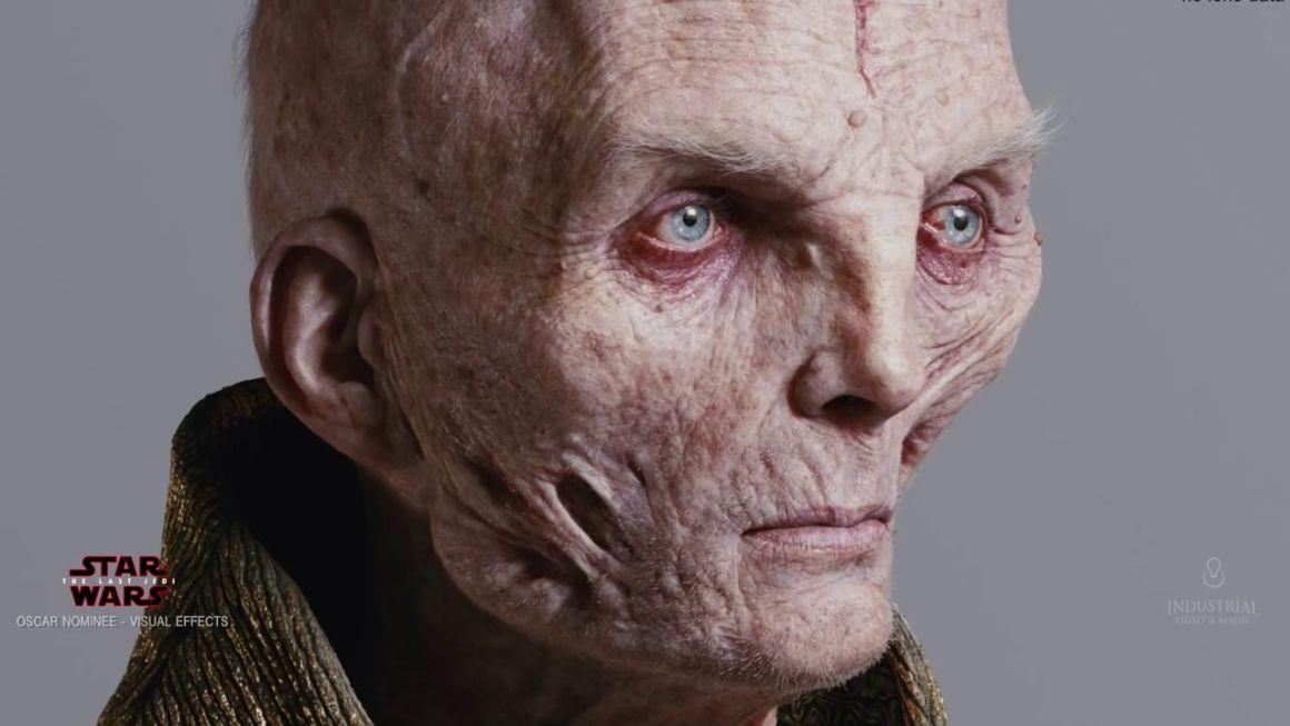 Making of Star Wars: The Last Jedi – Creating Supreme Leader Snoke