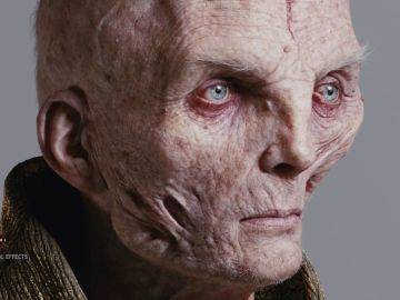 Making of Star Wars: The Last Jedi – Creating Supreme Leader Snoke