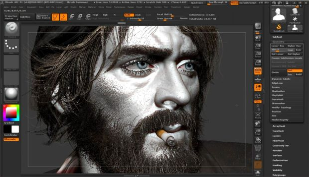 Master The Human Face in Zbrush | CGHOW