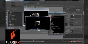 Maya Explosion Tutorial using FumeFX