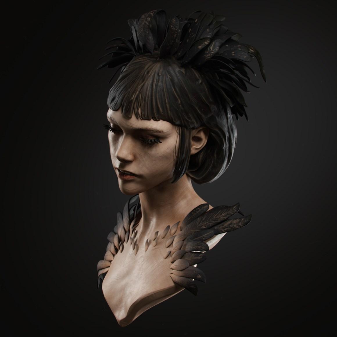 Noir portrait by Dmitry Danilov