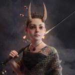 Oni Girl by Evan Gintsiak