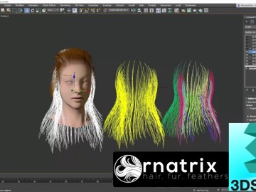 Ornatrix 3dsmax: Morphing Guides Using Spline Tools and Ornatrix Native Features