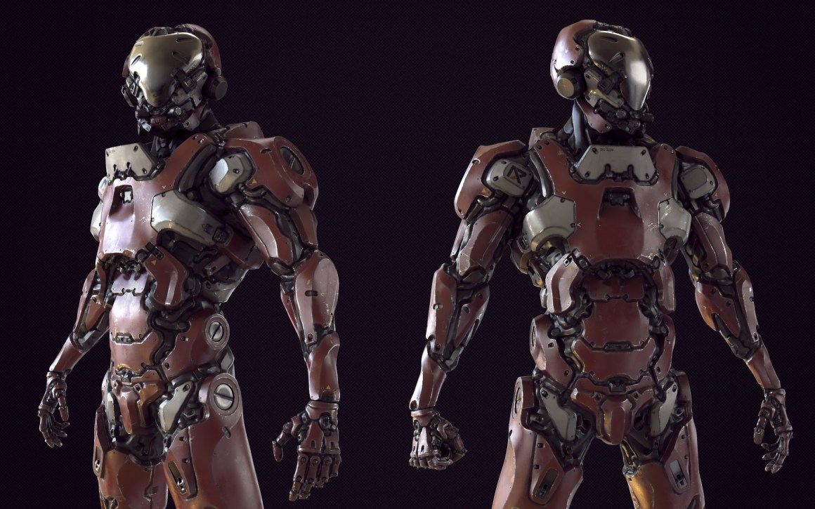 R7 Support Droid by Nicholas Cort