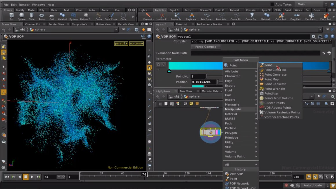 Introduction to Houdini 13 particles by Rohal Dalvi