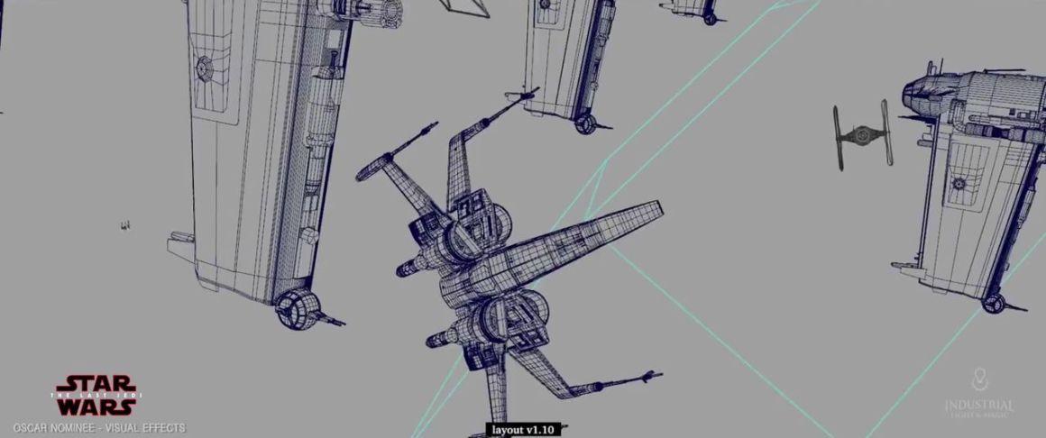 Making of Star Wars: The Last Jedi – Bombing Run