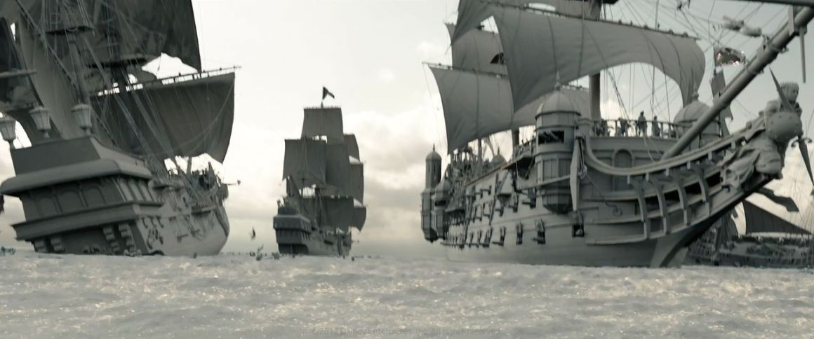 Pirates of the Caribbean Dead Men Tell No Tales VFX breakdown by MPC