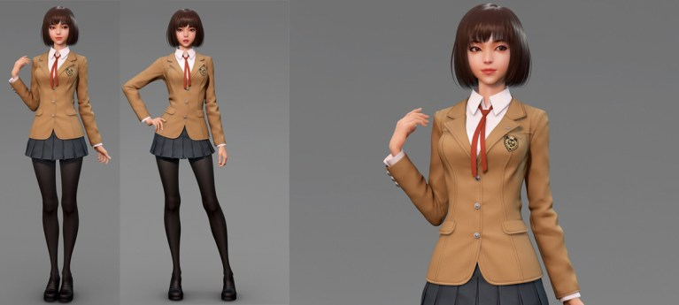 School uniform - Variation by Rosa Lee
