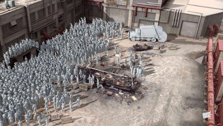 The Walking Dead Ep 807 VFX Breakdown