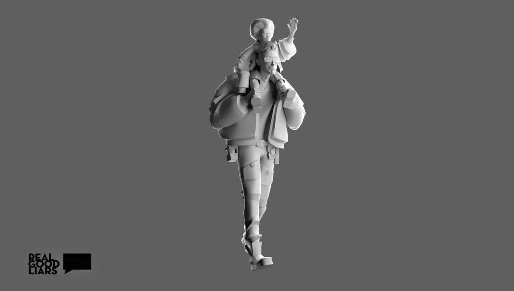 Hellboy BPRD Concept Art/Modelling Breakdown