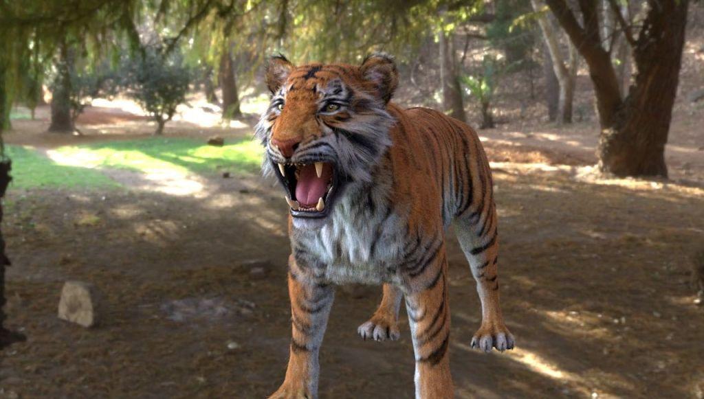 Making of Tiger Scene Breakdown