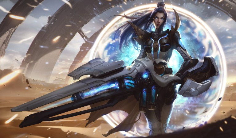 Pulsefire Caitlyn for League of Legends by Chengwei Pan