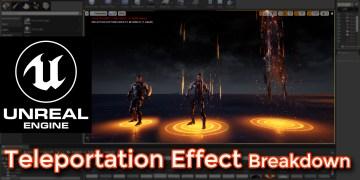 Unreal Engine   Teleportation Effect Breakdown