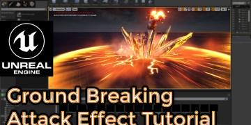 Unreal Engine   Ground Breaking Attack Effect Breakdown