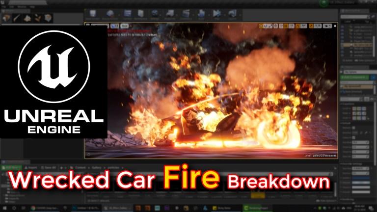 unrela engine fire,unrela engine fire tutorial,fire,fire tutorial,destructive fire tutorial,unreal engine destructive fire