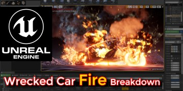 unrela engine fire,unrela engine fire tutorial,fire,fire tutorial,destructive fire tutorial,unreal engine destructive fire