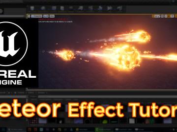 Unreal Engine Meteor Effect Tutorial