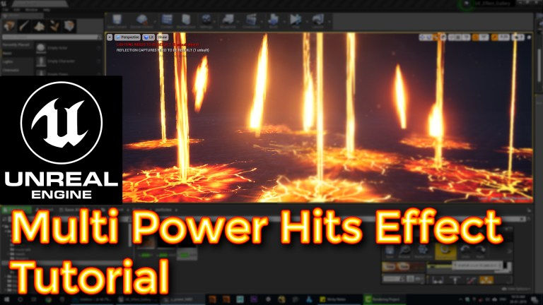 Unreal Engine Multi Power Hits Effect Tutorial