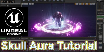 Unreal Engine Skull Aura Tutorial