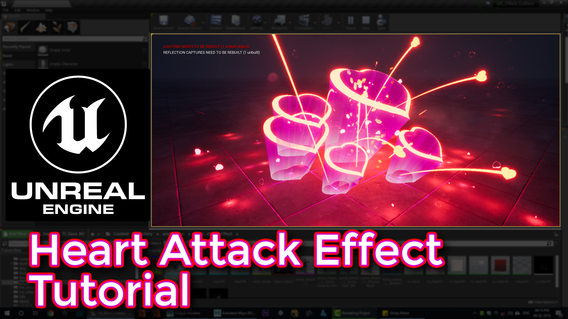 Unreal Engine Heart Attack Effect Tutorial