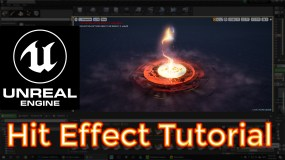 Unreal Engine Hit Effect Tutorials