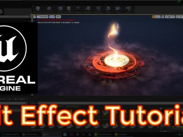Unreal Engine Hit Effect Tutorials